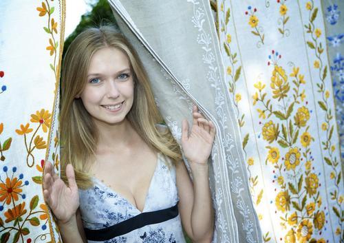 фото польской актрисы Магдалины Гурской