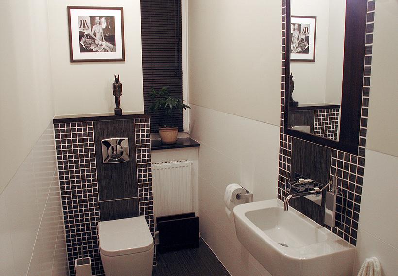 туалет в оригинальном дизайне