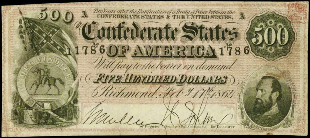 деньги Конфедерации