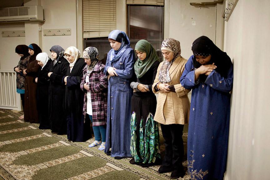 Женщины, принявшие ислам