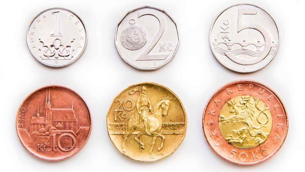 чешские монеты