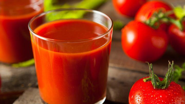 Сколько калорий в томатном соке?