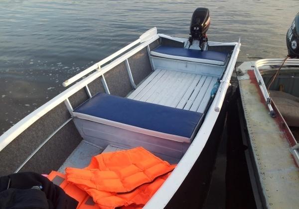 настилы на дне лодки