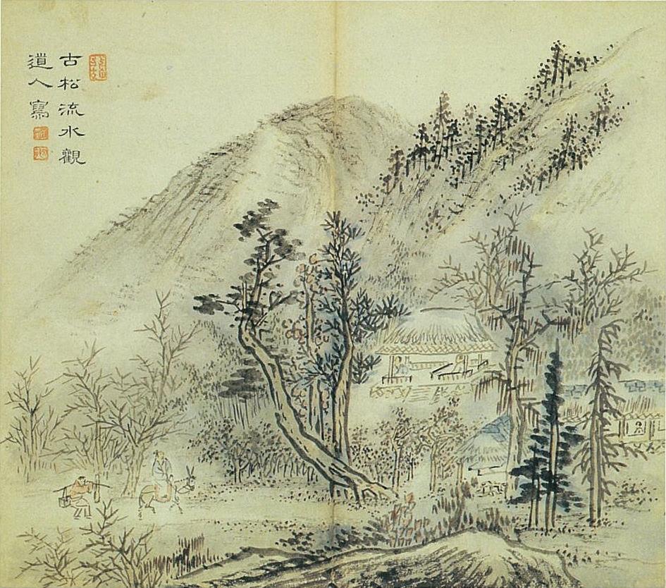 корейский пейзаж