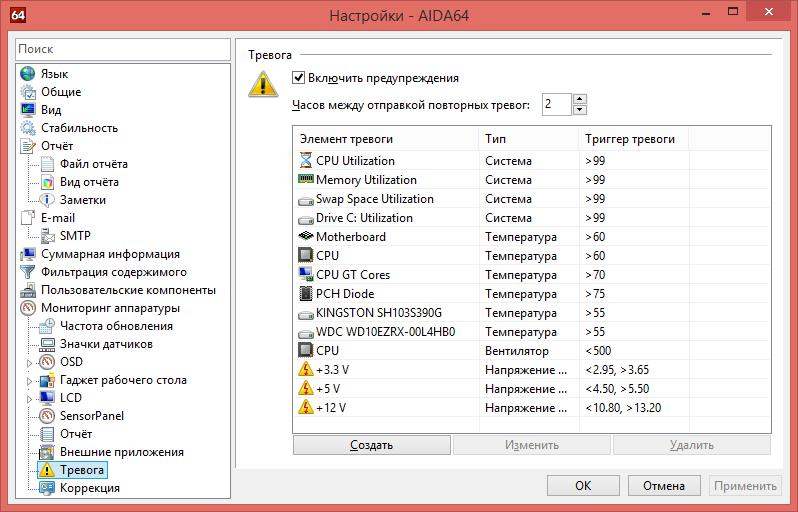 Программа-анализатор AIDA64 (бывший Everest)
