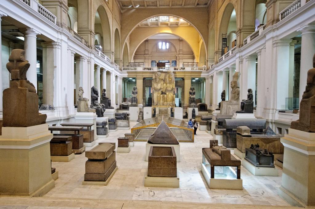 Атриум египетского музея в Каире