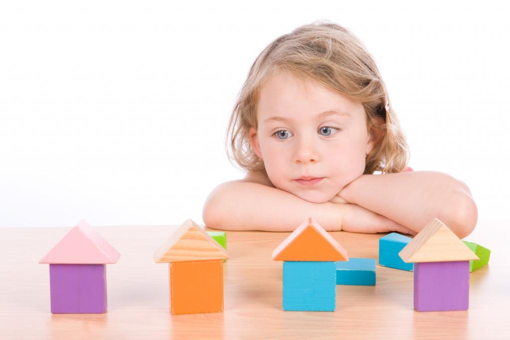Занятия ребенка аутиста
