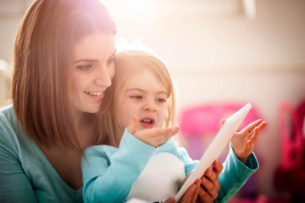 Занятия с особенными детьми