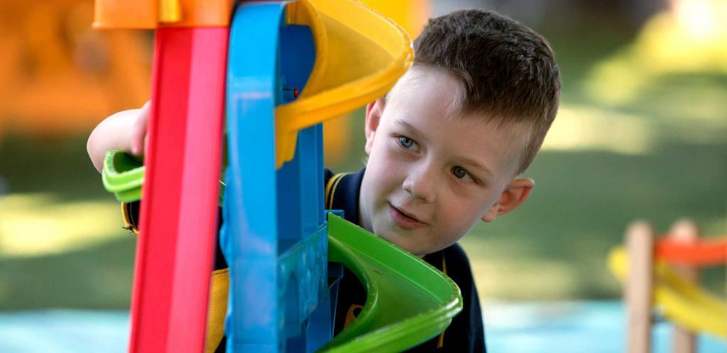 Игра ребенка аутиста