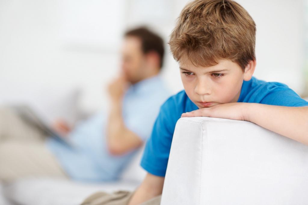 Проблемы в воспитании ребенка