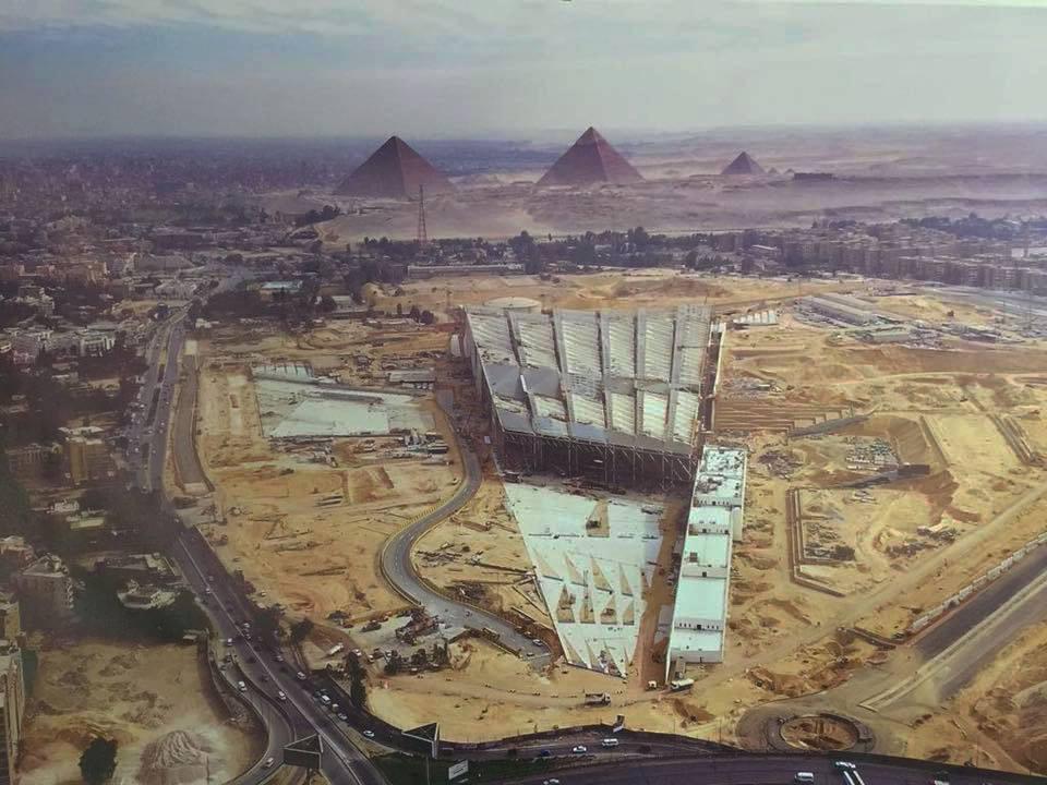 Строительство Большого египетского музея