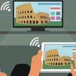 Беспроводное подключение ноутбука к телевизору: инструкция