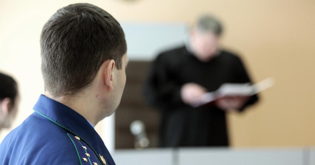 Прокурор в гражданском суде