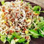 Салат с пророщенной пшеницей – пошаговый рецепт, особенности приготовления и отзывы