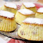 Три разных кекса с творогом и изюмом: ингредиенты и приготовление