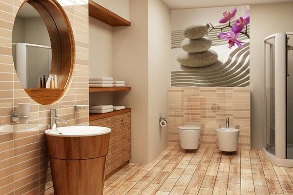 отделка стен туалета панелями