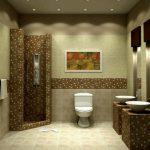 Стены в туалете: варианты оформления, выбор материалов