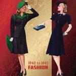 Мода 40-х годов XX века: особенности, история и интересные факты