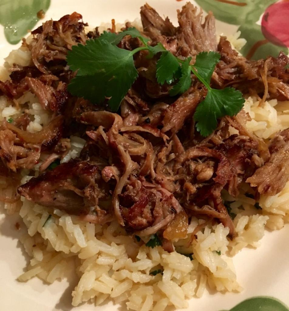 рецепт риса со свининой