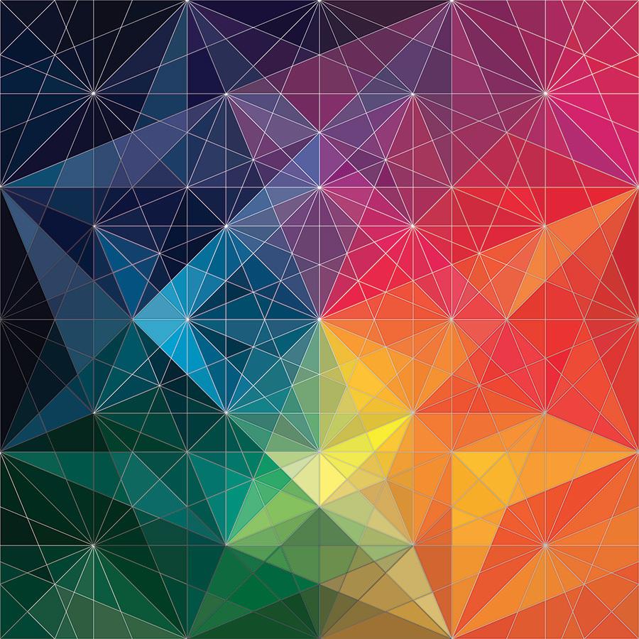 цветовое решение композиции