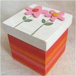 Красивая коробка для конфет своими руками: пошаговое описание, фото