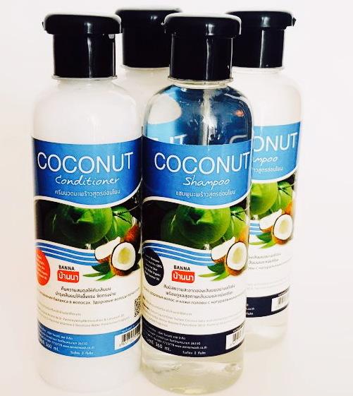 Тайский кокосовый шампунь