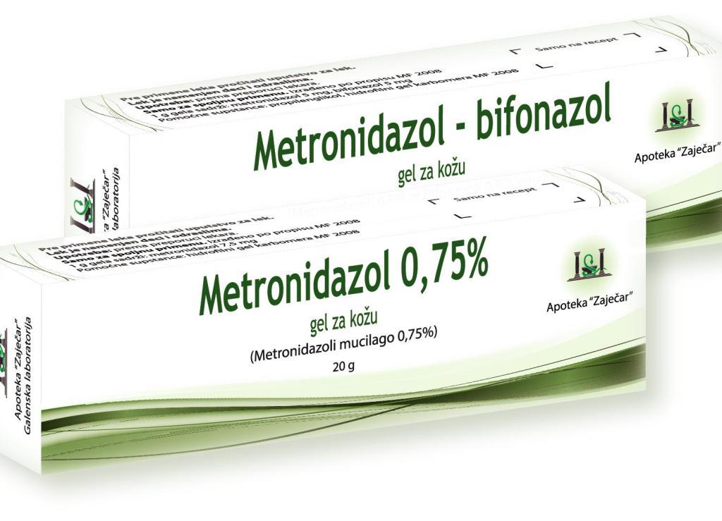 Крем метронидазол
