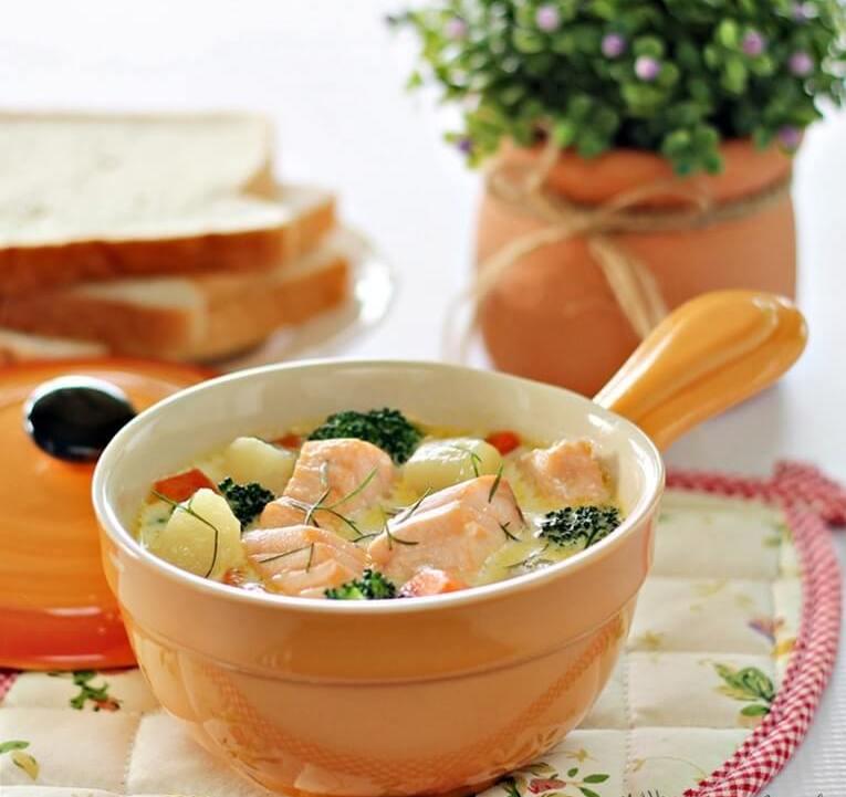 суп из рыбьих голов и хвостов