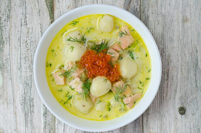 как сварить суп из рыбьих голов