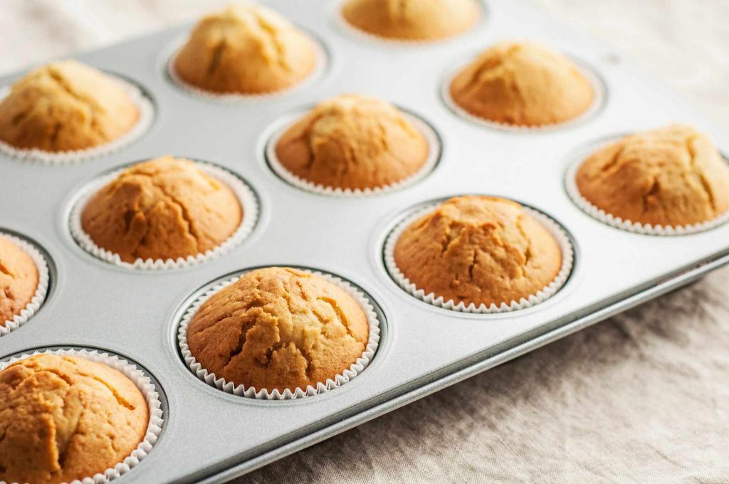 отзывы о рецептах кексов в формочках