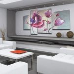 Картины в стиле хай тек для современного интерьера