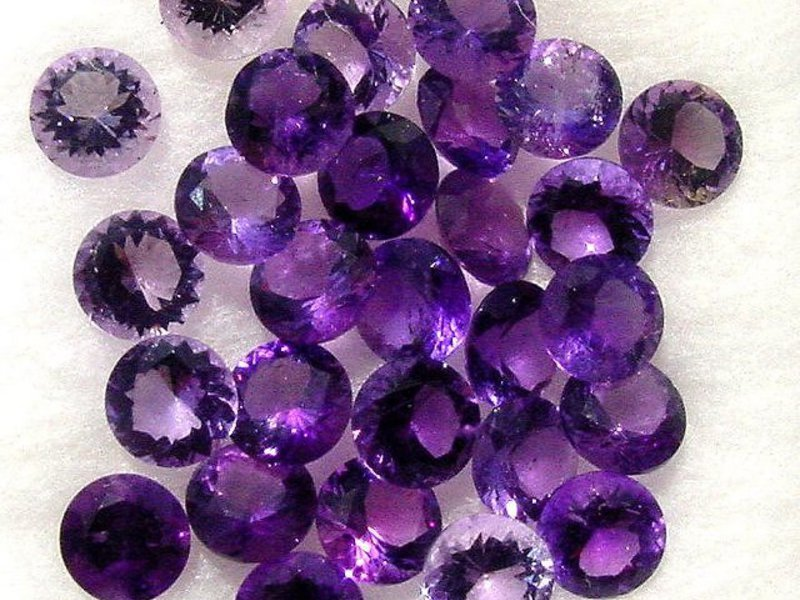 Фиолетовый аметист: фото