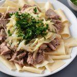 Бешбармак из свинины: рецепт приготовления в домашних условиях