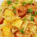 Самые вкусные рецепты картошки с квашеной капустой