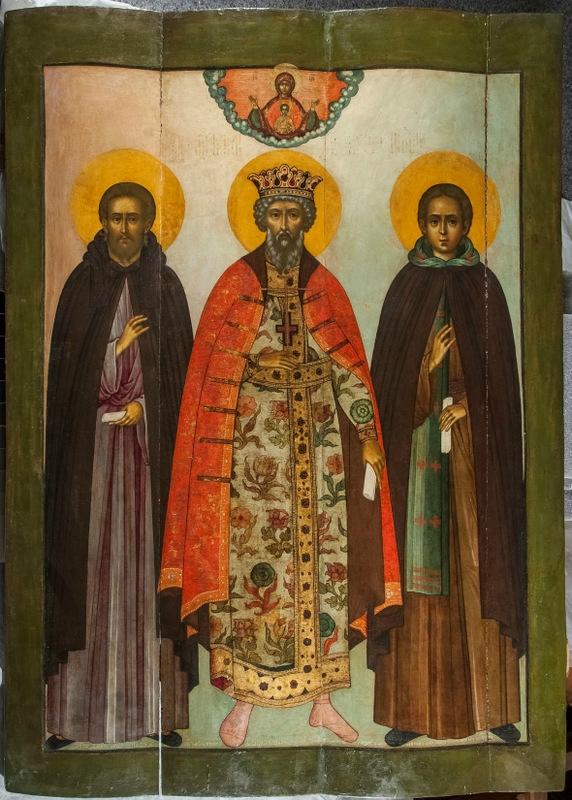 Икона Симона Ушакова