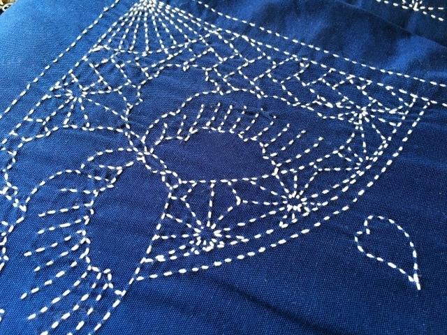 Традиционная вышивка сашико
