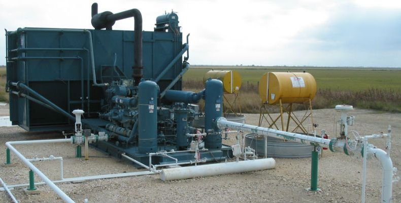 Компрессор для газлифта нефти
