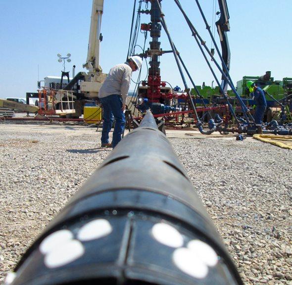 Канал газлифта нефти