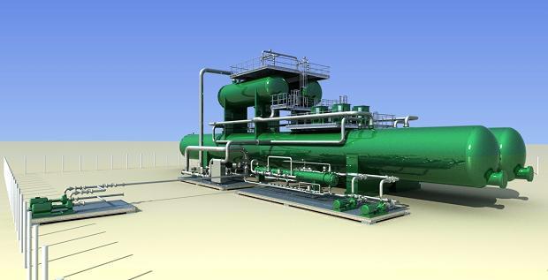Электродегидратор для обессоливания нефти