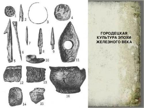 артефакты городецкой культуры