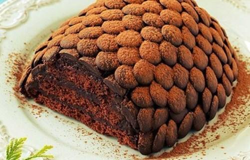 Оформление торта.