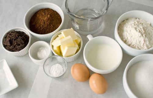 Ингредиенты для выпечки.
