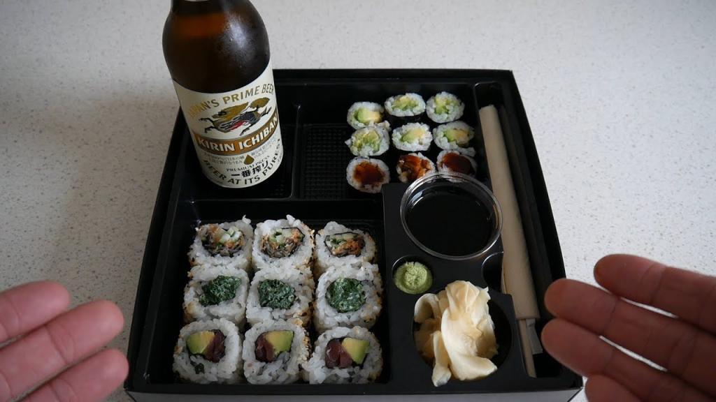 суши и пиво