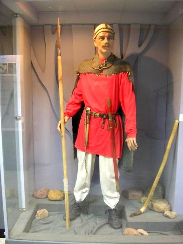 реконструированная одежда городецкого жителя