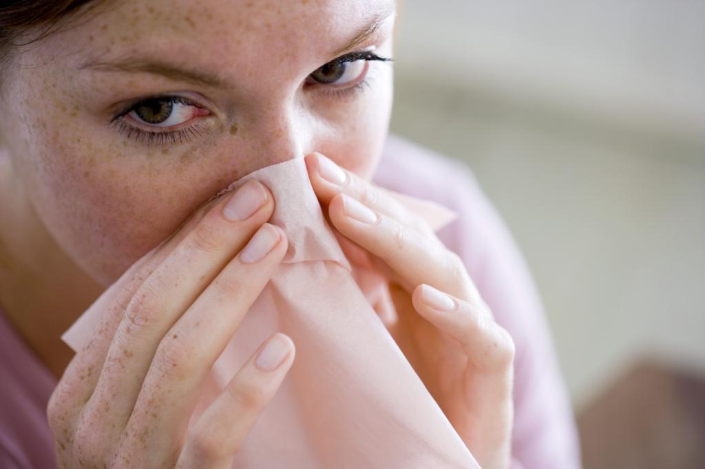 Воспаление слизистой оболочки носа и придаточных пазух