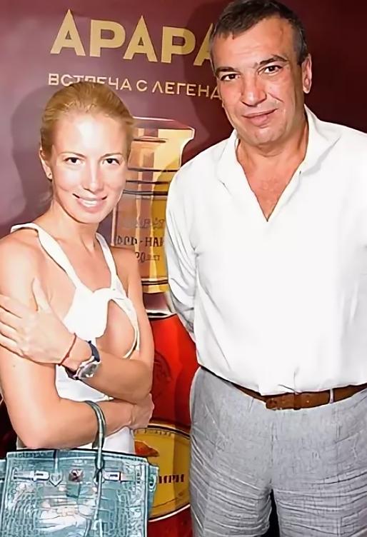 Светлана Захарова с бывшим мужем Михаилом Маниовичем
