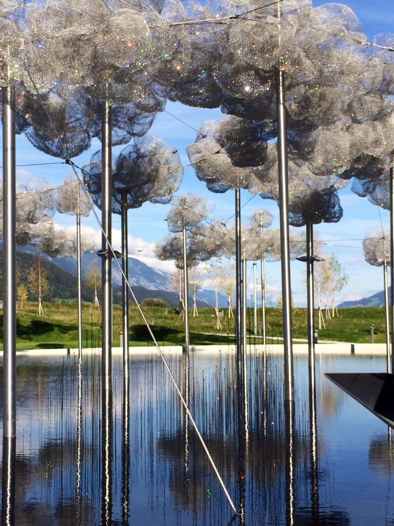 Роща хрустальных деревьев