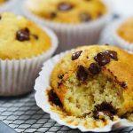 Кексы с шоколадными каплями: рецепт приготовления с фото