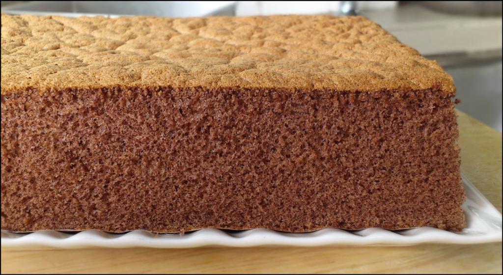 шоколадные коржи для торта рецепт