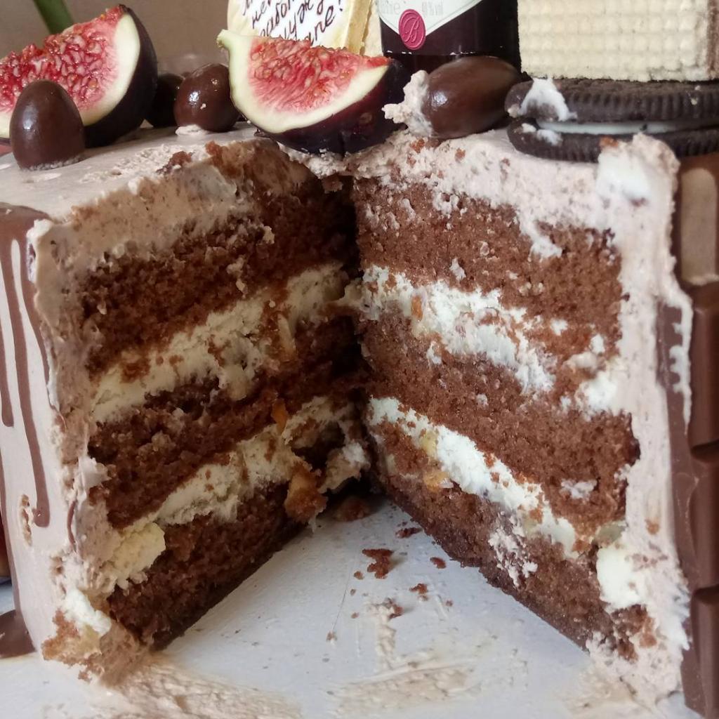 вкусные шоколадные коржи для торта рецепт